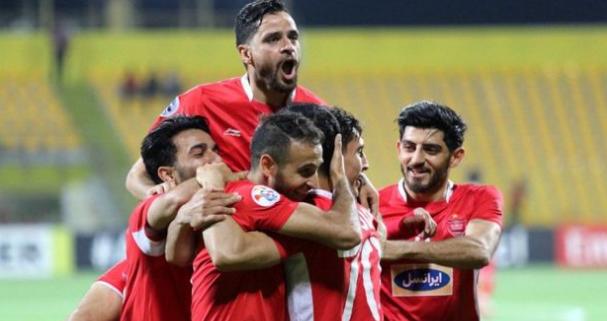 فريق برسبوليس الايراني يفوز على الأهلي السعودي في منافسات دوري أبطال آسيا.