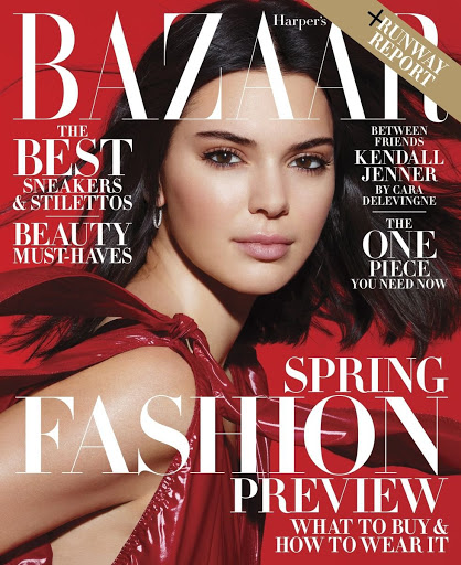 Kendal Jenner Photo shoot Harper's Bazaar Magazine February 2018