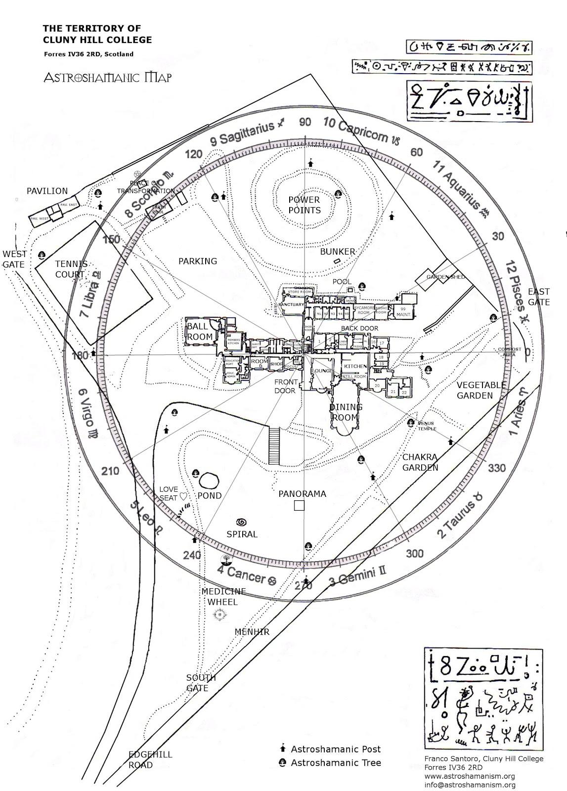Astroshamans The Astroshamanic Healing Grid At Findhorn
