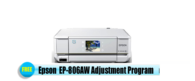 Epson EP-806AW Adjustment Program