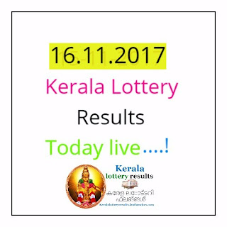 16-11-17 today kerala lottery results