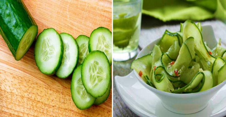Program: The Famous Cucumber Diet To Loss Extra Pounds