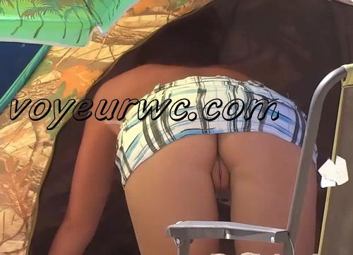 Exquisite random girls on the nudist beach sunbathing (NudeBeach bb15028-15036)