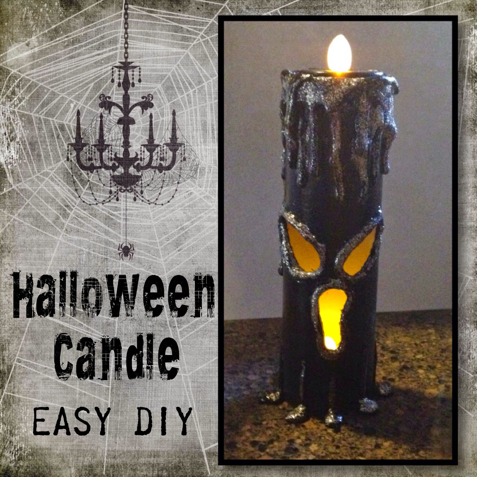 Crafty In Crosby Super Easy Paper Towel Roll Halloween Candles