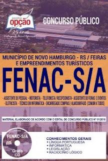 Baixar Apostila Concurso FENAC S/A 2018 PDF Download