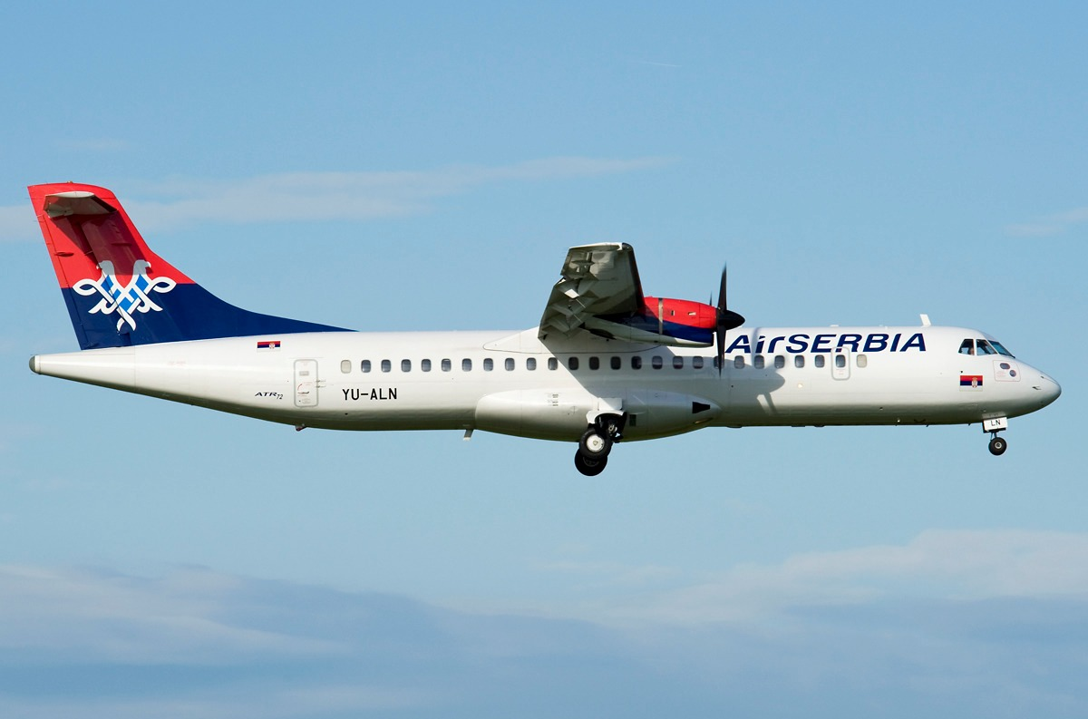 Trip Report Air Serbia Podgorica Belgrade