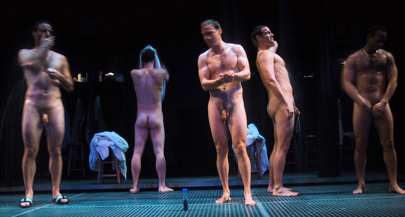 Nude Male Actors On Stage-8910