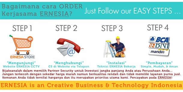 Cara Order Jasa Pemasangan CCTV di Ernesia CCTV
