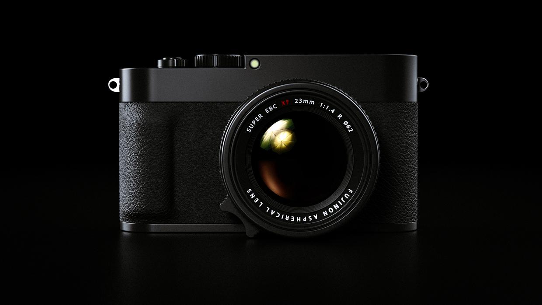 Концепт Fujifilm X100F от поклонников