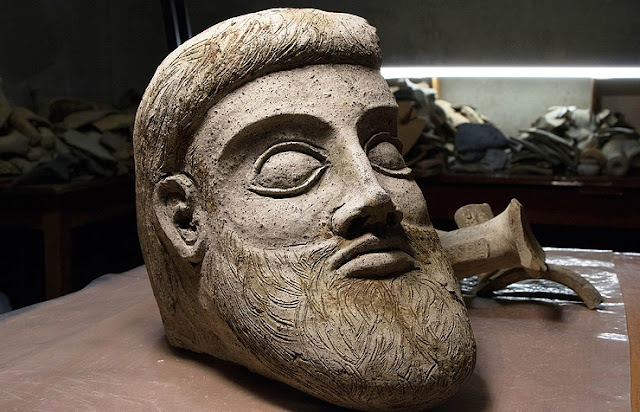 Unique ancient Greek terracotta statue unearthed at Crimean bridge construction site