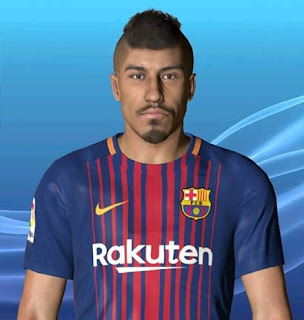 PES 2017 Faces Paulinho by Ben Hossam FaceMaker