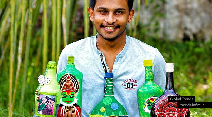 Nikhil Gopi M multi-talented Malayali