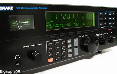 Drake R8B AM SW Ham Radio Shortwave Receiver NICE WORKING UNIT 10