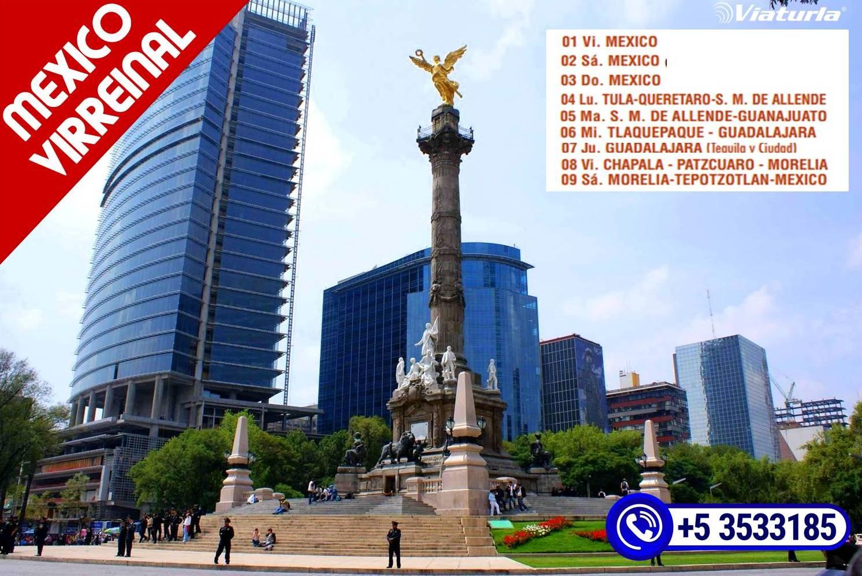 fef7fb402d5b Viaturla ofrece el plan México Virreinal