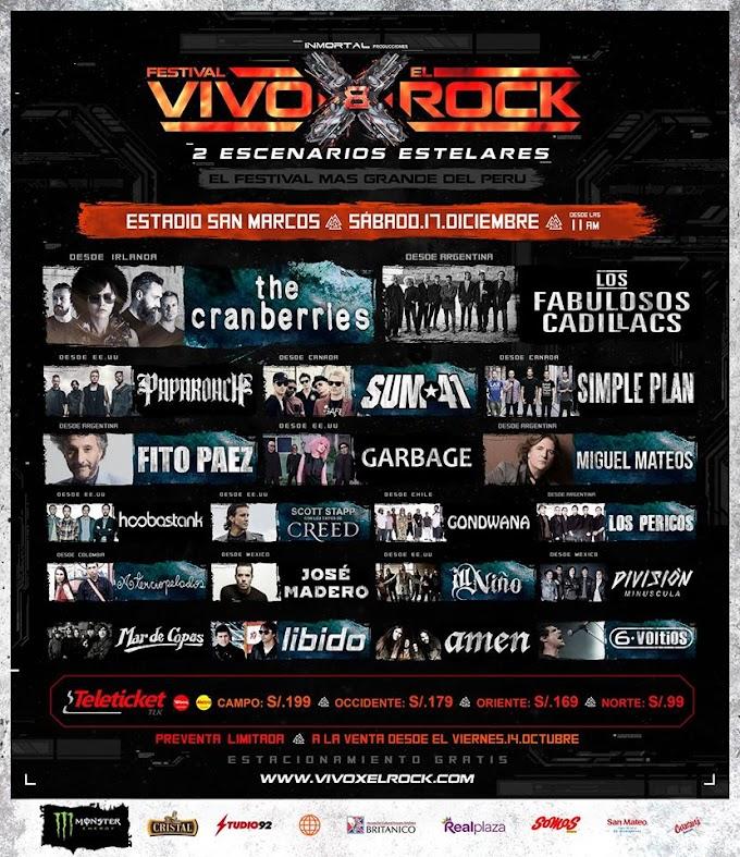 Festival Vivo X El Rock en Lima - 17 de diciembre