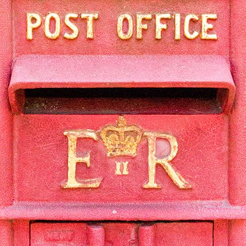 Red Royal Mail Letter Box by Katelyn Wood on Instagram: @LLKCake