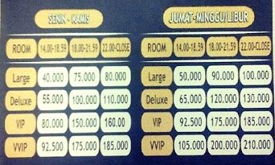 daftar harga masterpiece karaoke safin hotel pati