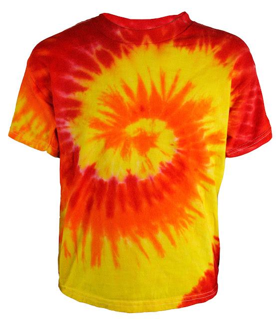 Футболка в стиле хиппи Tie Dye T Shirts