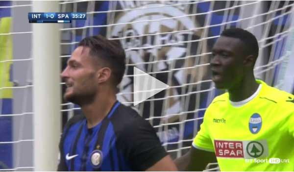 Video Inter Milan 2 - 0 Spal