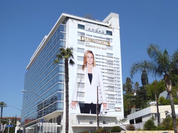 Full Frontal Samantha Bee 2017 Emmy billboard