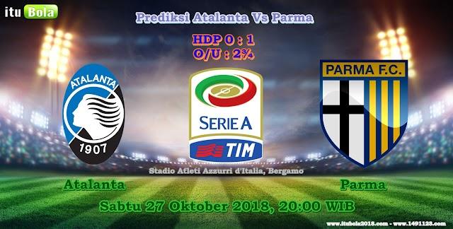 Prediksi Atalanta Vs Parma - ituBola