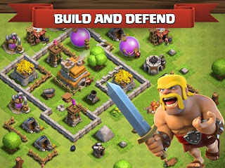 Download Game Clash of Clans v9.434.30 Mod Apk Unlimited Gold