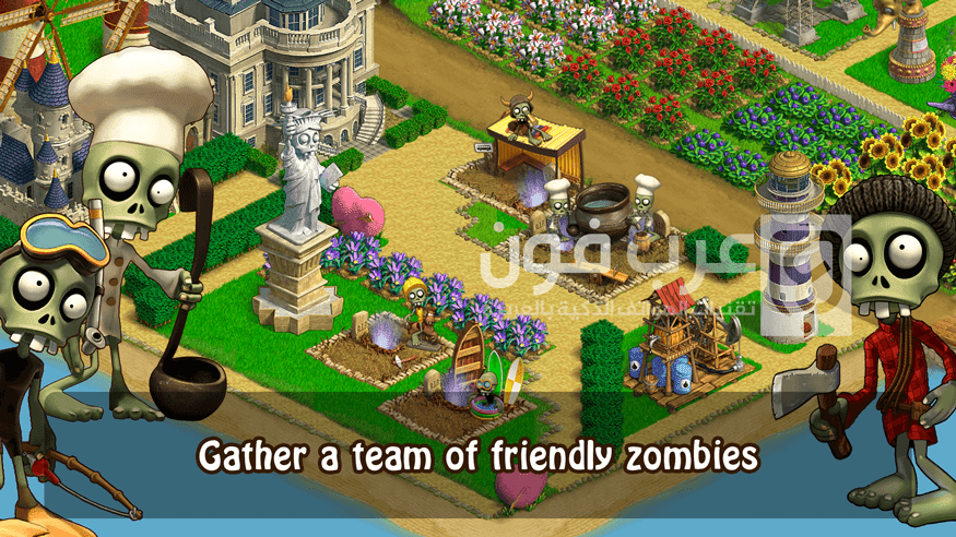 برابط مباشر مع اصدار مهكر، انها لعبة zombie