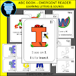 LANGUAGE ARTS: ABC EMERGENT READER - LEARNING LETTERS AND THEIR SOUNDS