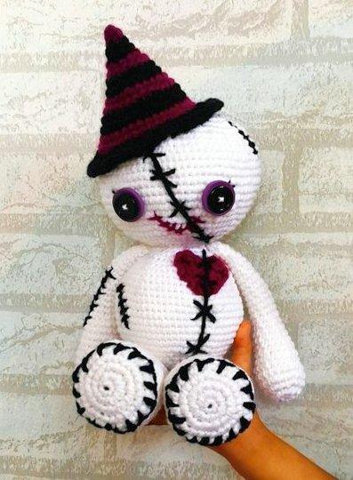 Amvabe Crochet Halloween Zombies Crochet Pattern Roundup