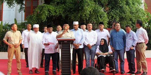 Prabowo Klaim Menang, PAN 'Menghilang'