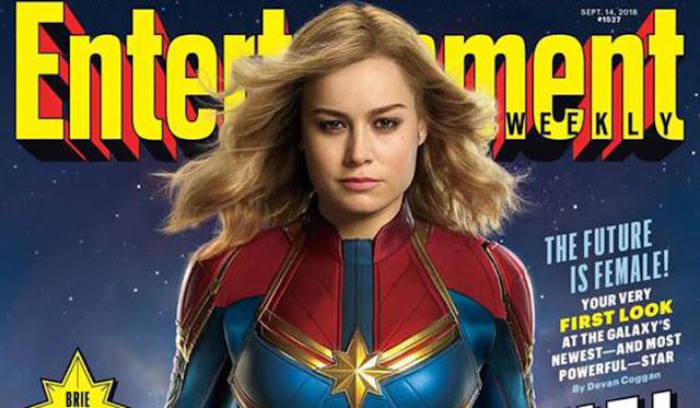 Capitã Marvel Primeira imagem