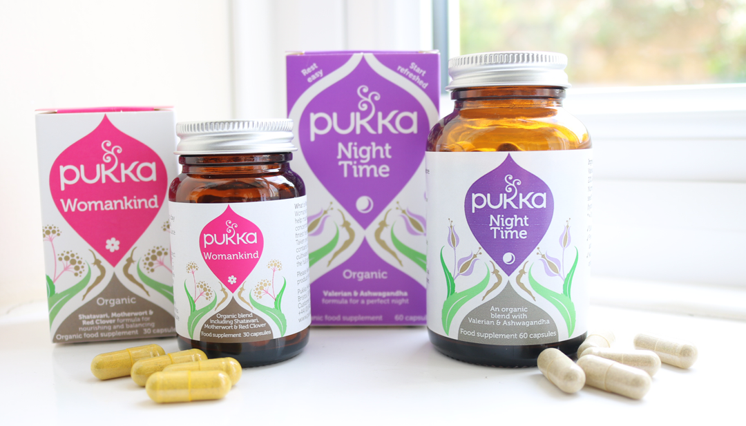Pukka Night Time & Womankind Supplements review