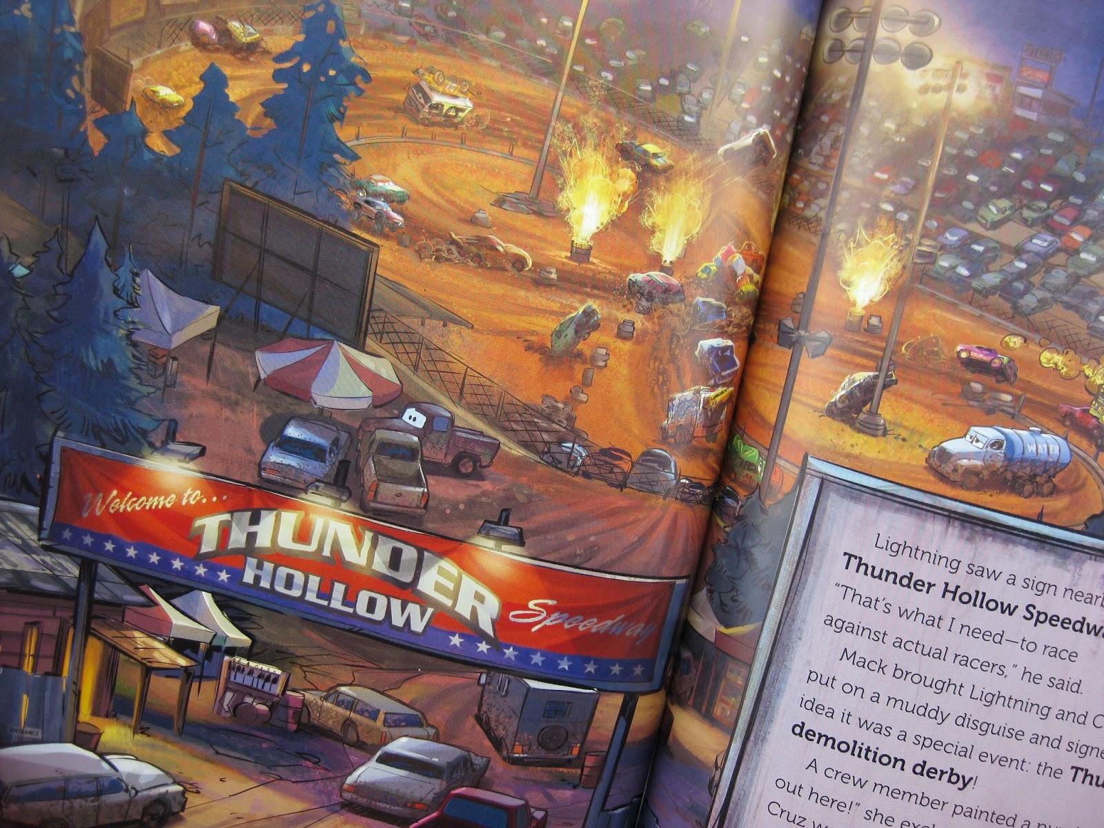 pixar cars 3 big golden book
