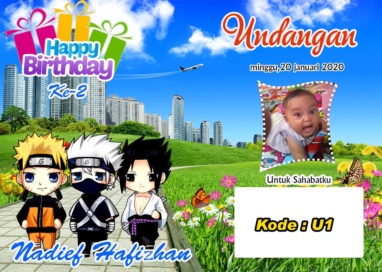 Undangan Ulang Tahun Anak Joninot Info