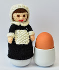 Pilgrim Lady Doll Egg Cosy Knitting Pattern