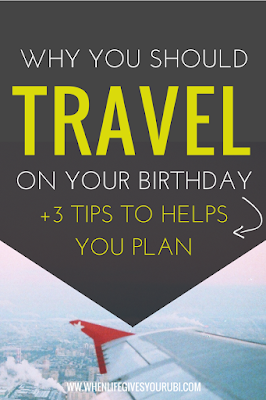 Traveling in your twenties doesn't have to cost a fortune. Click to read why everyone should travel on their birthdays, plus how I travel on a small budget.