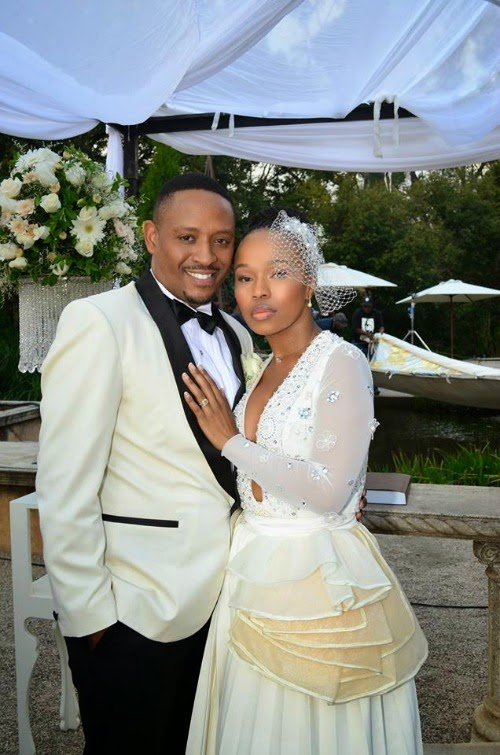 muvhango thandaza and ranthumeng, thandaza husband, thandaza wedding,