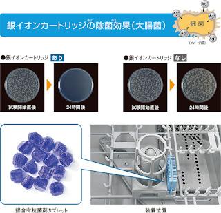 リンナイ 食器洗い乾燥機 銀イオン