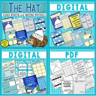 The Hat is perfect for the perfect book for guided reading or as a mentor text. Check out this post for details of what's included in this unit bundle.