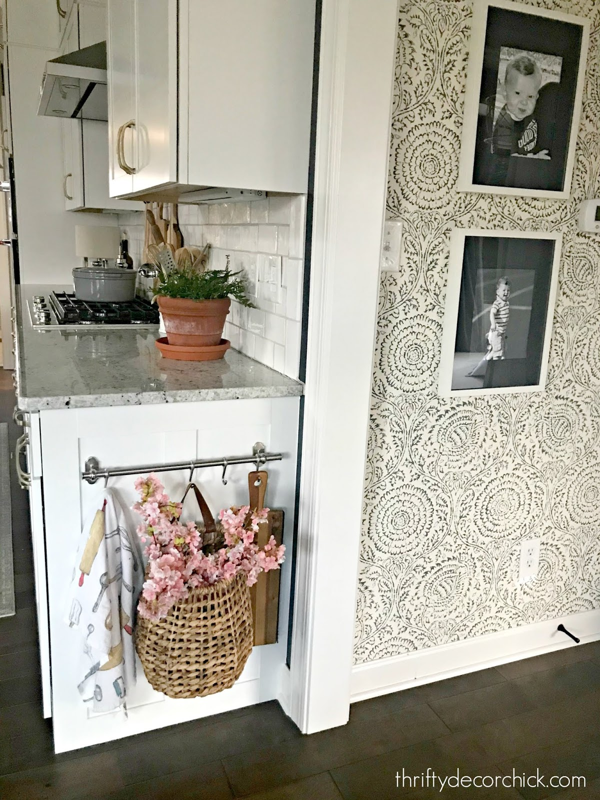 Adding character to builder grade kitchen