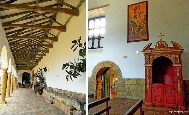 Mosteiro colonial de Ecce Homo, Villa de Leyva, Colômbia