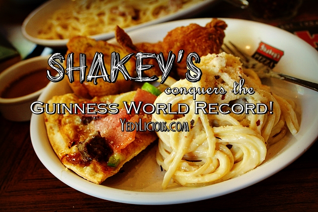 Shakey's Pizza Philippines On Guinness World Record. Shakey's Pizza Family Meal Deal Bundle