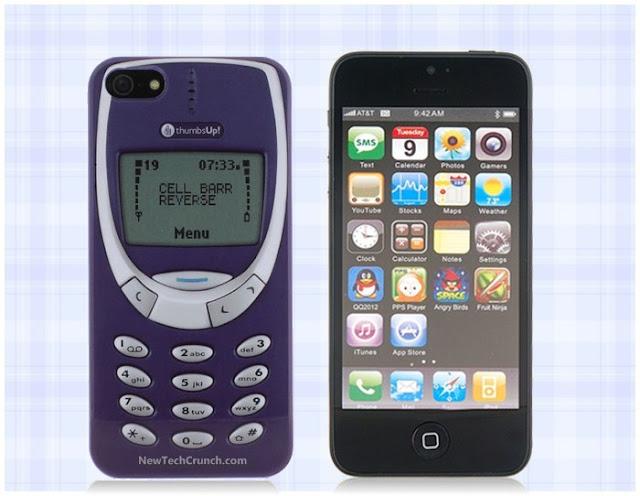 Retro Nokia 3310 Cover for iphone 4 4s 5