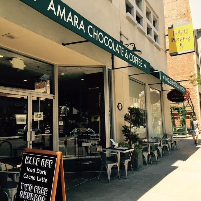 Amara Cafe Chocolate Coffee Pasadena Ca