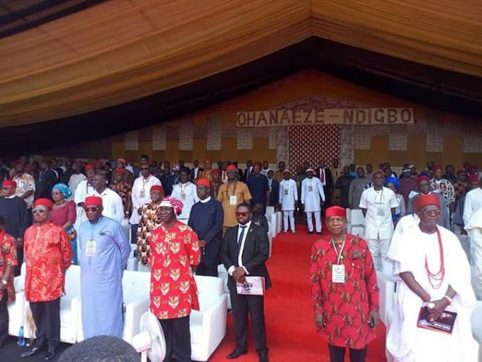 Best News: Roll Call of Who is Who@the 2018 World Igbo Summit On Restructuring Nigeria: