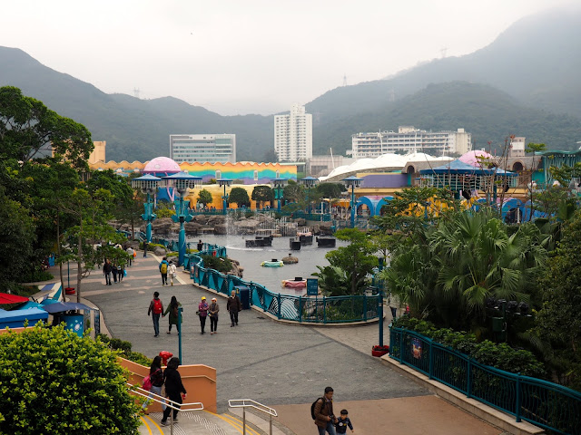 Aqua City Lagoon, Ocean Park, Hong Kong