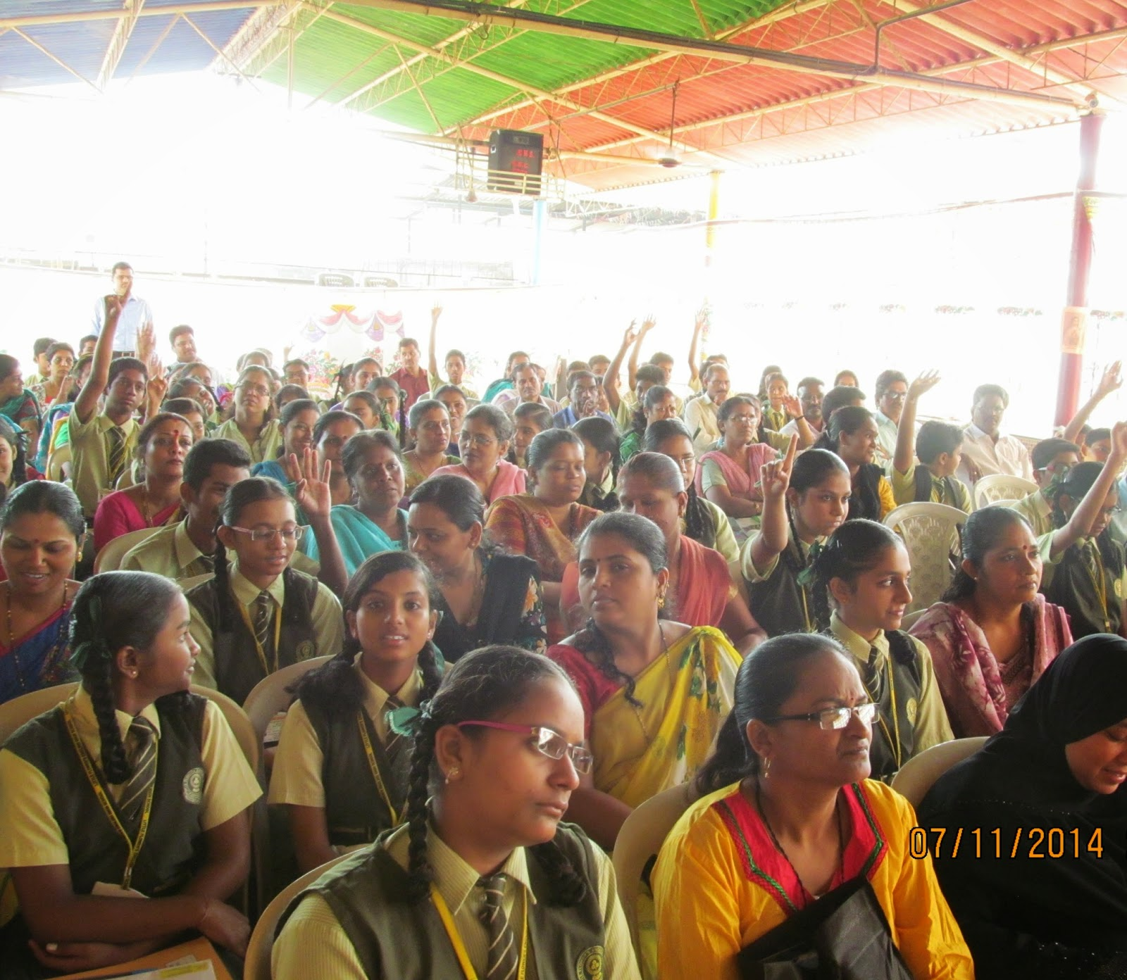 Career Guidance Seminar at Little Flower s English High School by Career