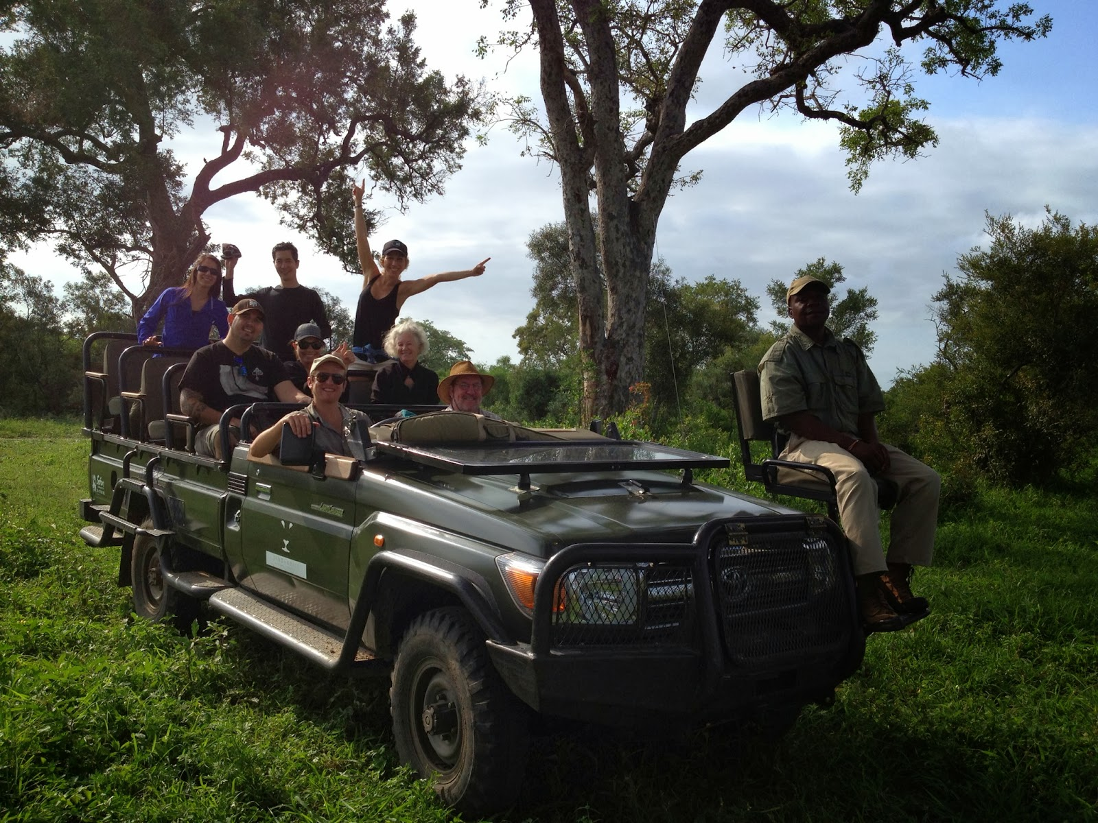 Sabi Sands - Group photo