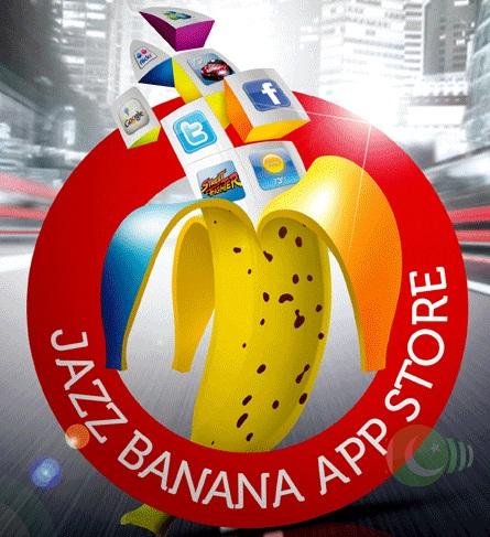 Mobilink Brings Jazz Bananas Mobile App Store | Pakistan