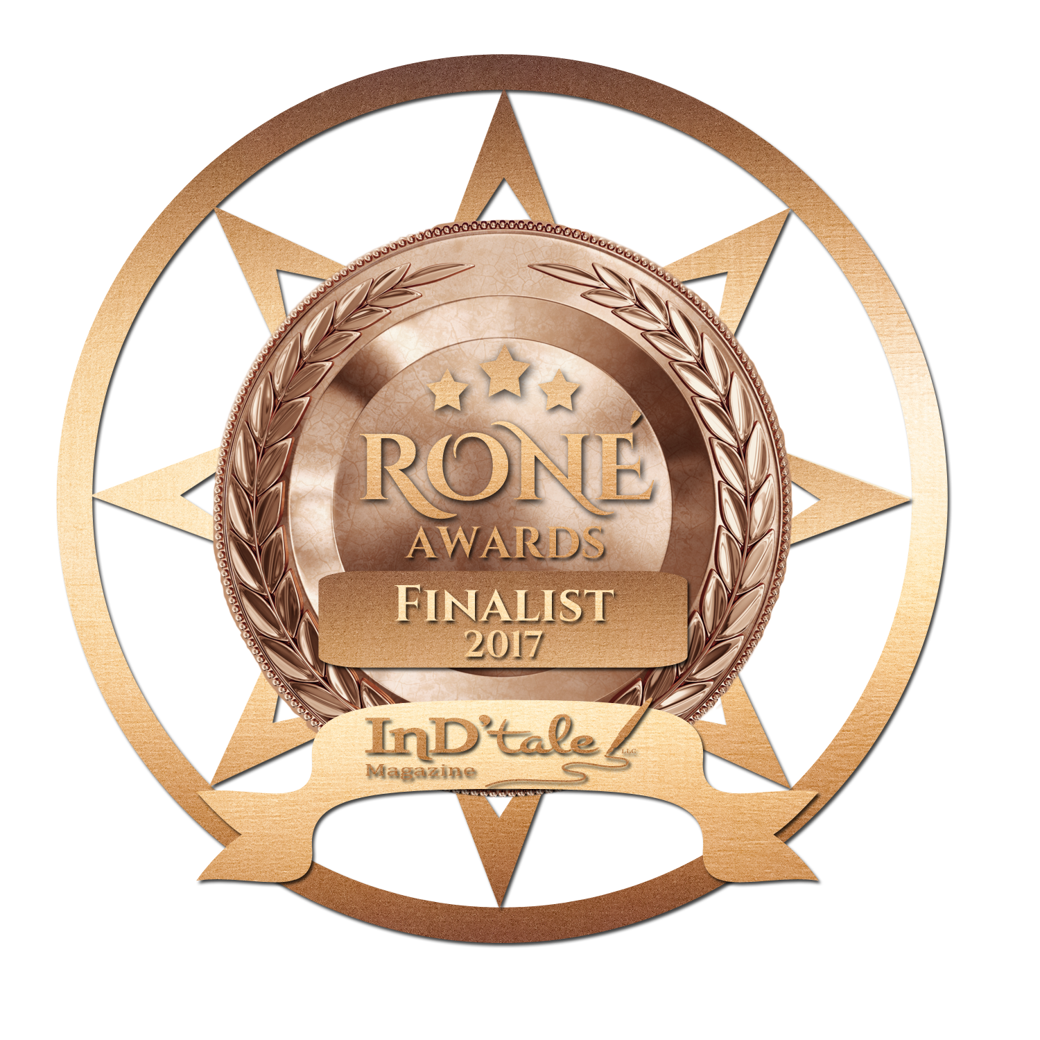 RONE Award Finalist for Best Suspense---The Captain